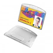 Edimeta Porte-cartes rigide 86 x 54 mm