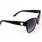 Versace Rectangular Sunglasses(Grey)