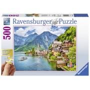 Ravensburger puzzle hallstatt austria, 500 piese