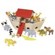 Set figurine lemn - Arca lui Noe