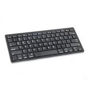 Bluetooth toetsenbord mini keyboard draadloos - QWERTY - Zwart