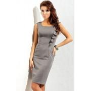 Sukienka 130 (szary)