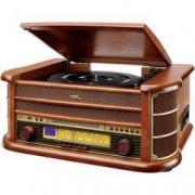 Dual USB gramofon Dual NR 4, řemínkový pohon, dřevo