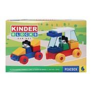 Toy Sports House Kinder Blocks Car Set