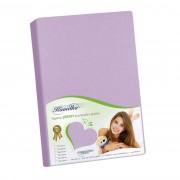 Cearşaf Jersey Kamilka, violet, 120 x 200 cm, 120 x 200 cm