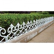 Wonderland Garden Design fence ( pack of 4) made of PP/PVC for your garden