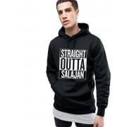 Hanorac Barbati Negru - Straight Outta Salajan