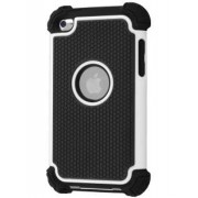 iPod Touch 4 Impact Case - Apple Impact Case (White/Classic Black)