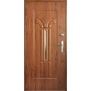 Drzwi stalowe z przeszkleniem BORA