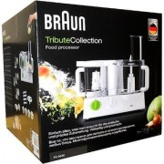 Braun Tribute Collection FX 3030 - Food Processor - 600 W - White/Green(ONLY PREPAID)