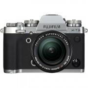 Fujifilm X-T3 ARGENTO + 18-55 F/2.8-4 R LM OIS - MANUALE ITA - 2 Anni di Garanzia in Italia