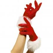 Smiffys Luxe rode handschoenen