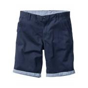 bpc bonprix collection Bermudashorts i chinosmodell med uppvikta benslut, normal passform