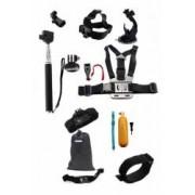 Set 14 accesorii camera sport GoPro iUni Kit6