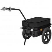 vidaXL kerékpár utánfutó/szekér 70 L