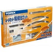 Fine Track Rail Set Double-Tracking Set (Track Layout D) (Model Train)