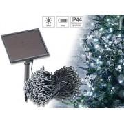 Solar-LED-Lichterkette, 500 LEDs, Dämmerungssensor, weiss., 50 m, IP44 | Solar Lichterkette