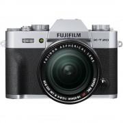 Fujifilm X-T20 Aparat Foto Mirrorless 24MP Kit cu Obiectiv 18-55 F/2.8-4 R LM OIS Argintiu
