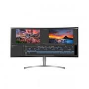 "LG IPS ívelt HDR10 Monitor 37,5"" - 38WK95C-W, 3840x1600, 21:9, 300 cd/m2, 5ms, HDMI,DisplayPort,USB-C,USB,hangszóró"