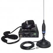 Kit Statie radio auto CB Midland Alan 100 + Antena Funk 90 + Baza magnetica 120/dv