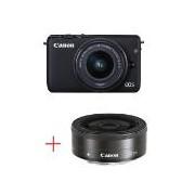 Canon EOS M10 black + EF-M 15-45mm IS STM + EF-M 22mm f/2 STM AJ0584C012AAPC
