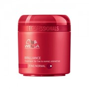 Wella Professional Maska pro jemné až normální barvené vlasy Brilliance (Treatment For Fine/Normal Colored Hair) 150 ml