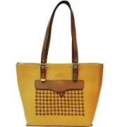 Mex Women Brown, Yellow Shoulder Bag