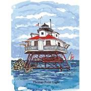 Heritage Puzzle Thomas Point Lighthouse Jigsaw Puzzle (550 Piece)