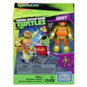 Jucarie Mega Bloks Teenage Mutant Ninja Turtles Mikey Nunchuk Training Pack
