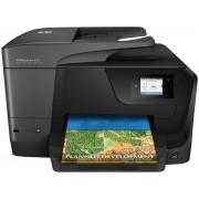 HP Officejet Pro 8710 All-in-One - Impressora multi-funções - a cores - jacto de tinta - Legal (216 x 356 mm) (original) - A4/L