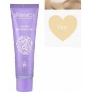 BB Cream Benecos bio 8-in-1, Fair (ten deschis), 30 ml