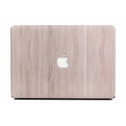 Lunso - cover hoes - MacBook Air 13 inch (2010-2017) - houtlook lichtbruin