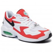 Обувки NIKE - Air Max2 Light AO1741 101 White/Black/Habanero Red