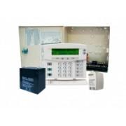 Interlogix Kit Sistema de Alarma NX8-520, incluye Panel NX-8, Teclado, Gabinete, Transformador, Batería