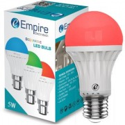 SWARA E27 5W COLOR LED BULB RED- PACK OF 1
