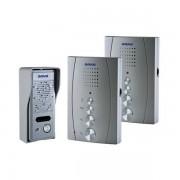 Domácí bezsluchátkový telefon Orno ELUVIO INTERCOM stříbrný