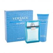 Versace Man Eau Fraiche confezione regalo Eau de Toilette 100 ml + doccia gel 100 ml uomo