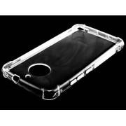 Gel Case with Bumper Edges for Motorola Moto E4 - Motorola Soft Cover (Clear)