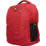 peter india 15.6 inch Expandable Laptop Backpack(Red)
