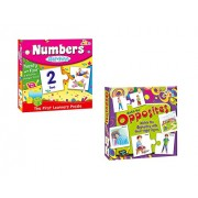 ShopMeFast Awals Number Matching and Match The Opposites Matching Puzzle Toy for Kids