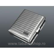 Tabachera din metal 0142 pentru 20 tigari lungi