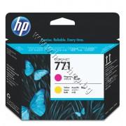 Глава HP 771, Magenta + Yellow, p/n CE018A - Оригинален HP консуматив - печатаща глава