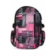 Iskolai hátizsák, Extreme 4me, Fusion Black/Pink