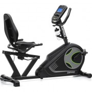 Bicicleta fitness electromagnetica recumbent Zipro Iconsole+ Glow, Greutate maxima admisa 100kg