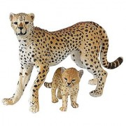 Papo Wild Animal Kingdom Figure Cheetah with Cub