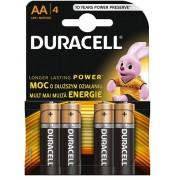 Baterije AA Duracell Basic duralock 4kom, 508188