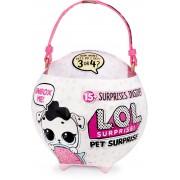 MGA L.O.L. Surprise Biggie Pets Velké zvířátko - Pejsek Pink
