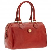 The Bridge Borsa Donna a Bauletto in Pelle Rossa linea Story