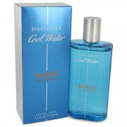 Cool Water Wave Eau de Toilette Spray By Davidoff 4.2 oz Eau de Toilette Spray