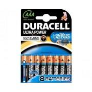 Standaard Duracell MX2400 ultra AAA (per 8)